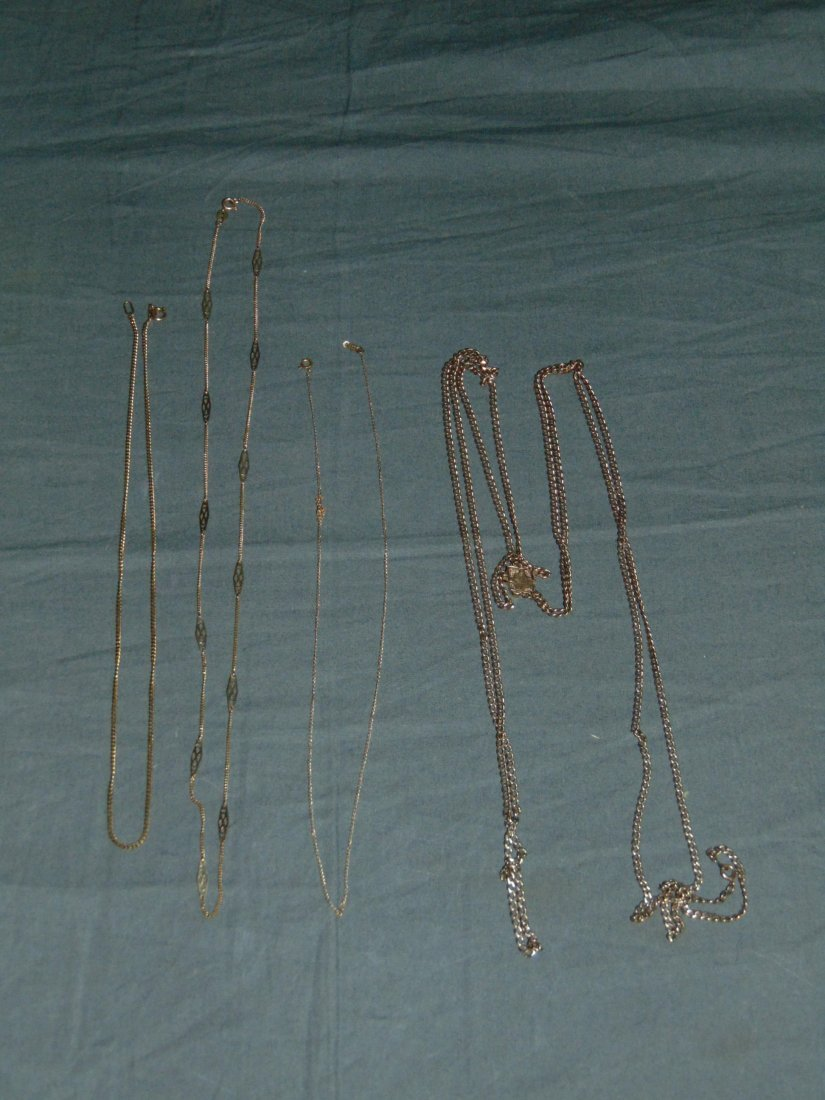 Lot of Gold Jewelry.