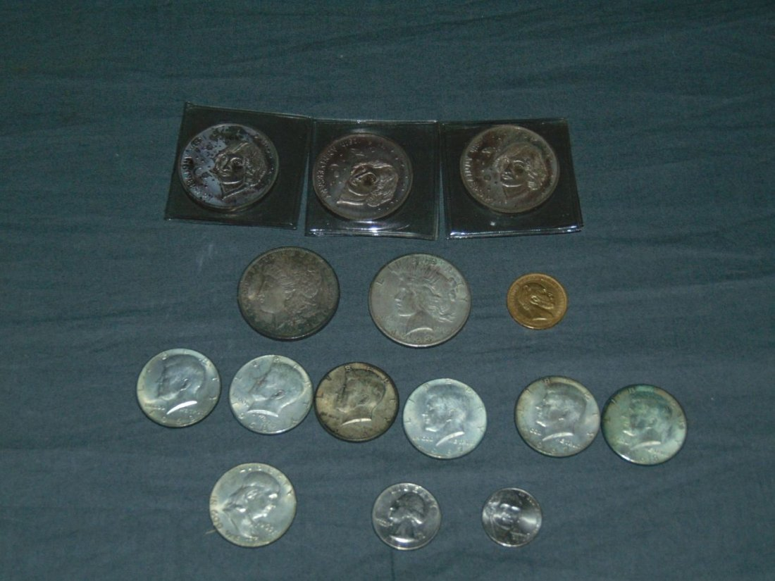 Gold and Silver Coin Lot.