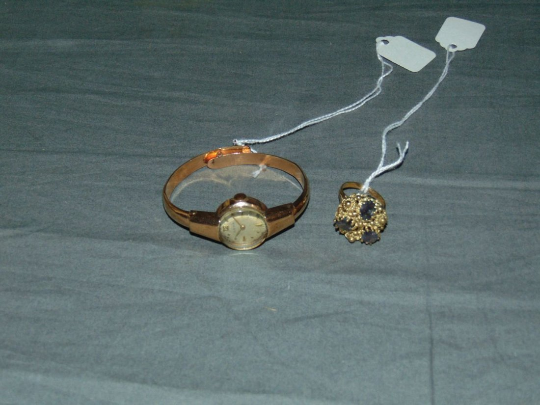 Two Piece Gold Jewelry Lot
