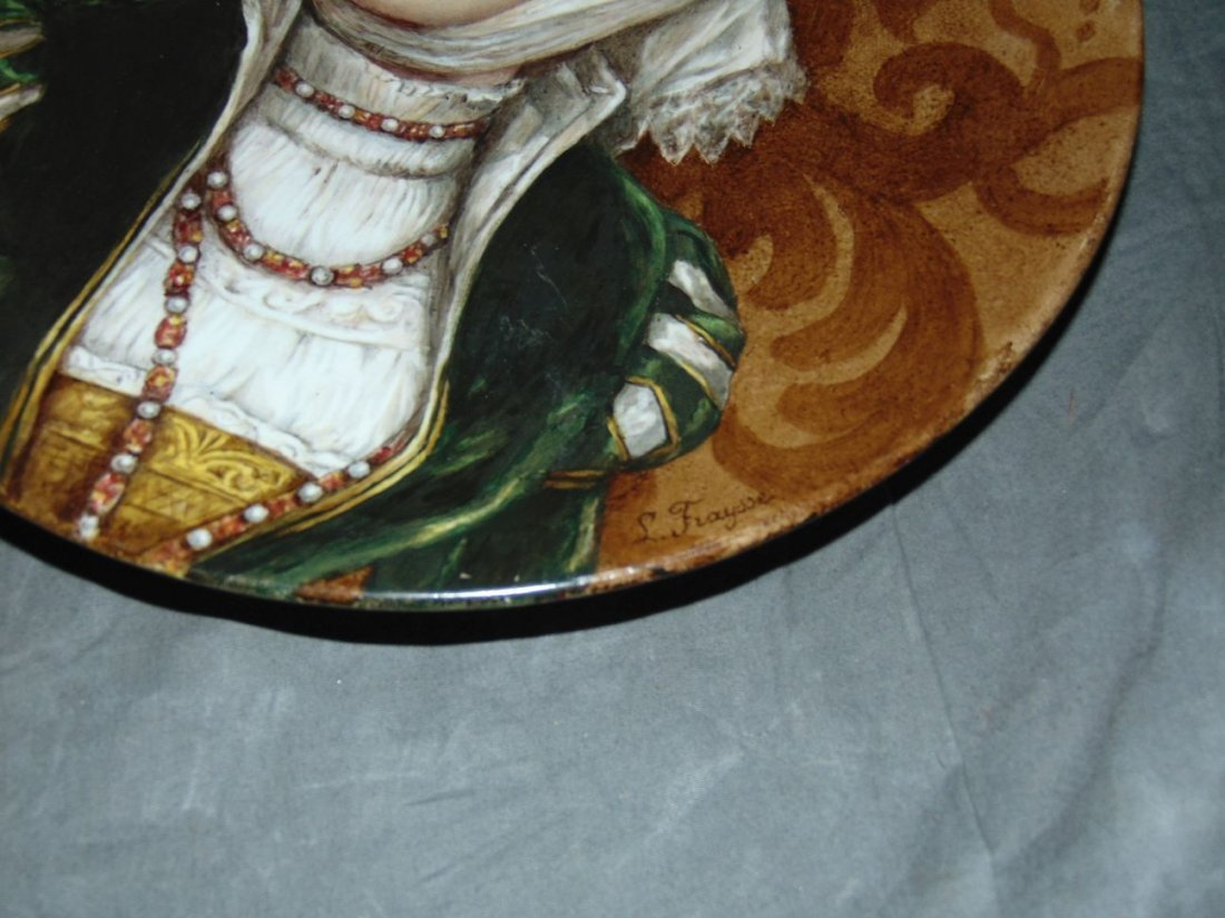 Hand Painted German Porcelain Plate - 2