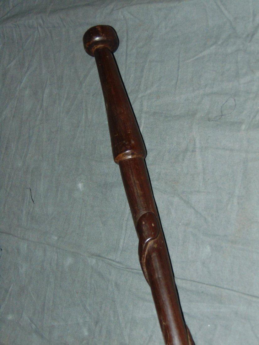 Cane, Walking Stick and Baton Lot. - 2