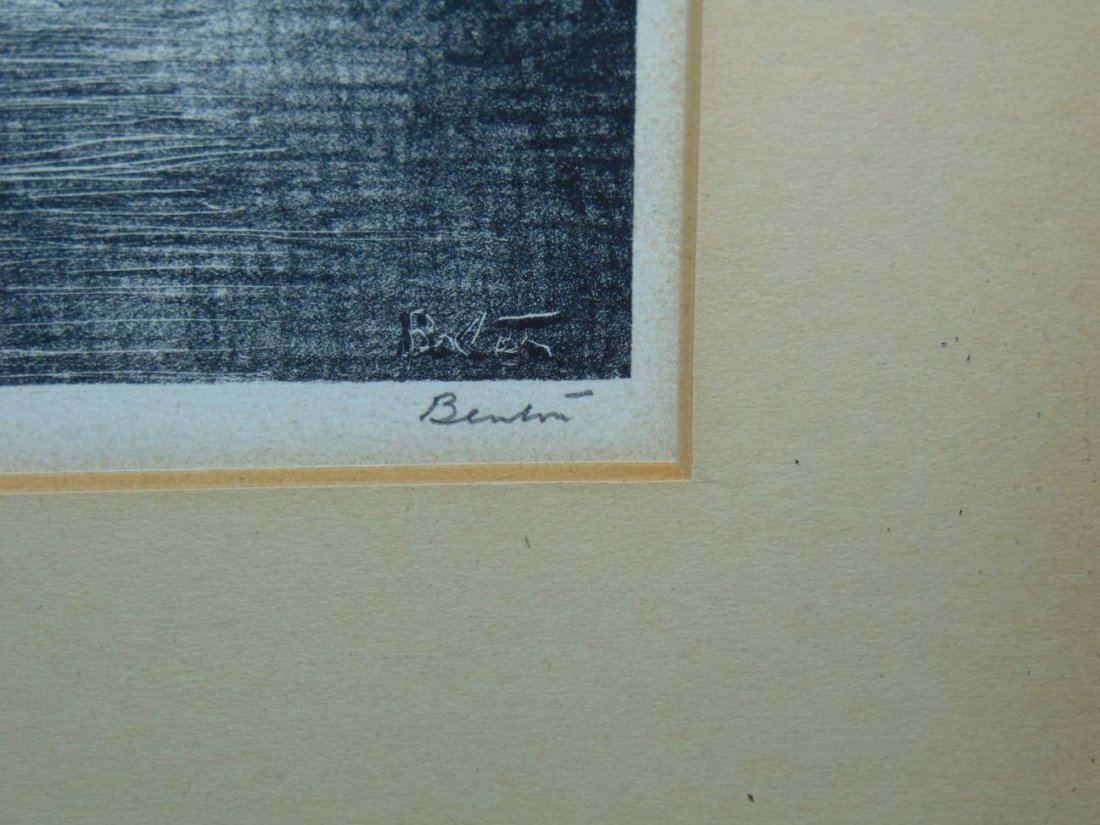 Thomas Hart Benton, Signed Lithograph - 2