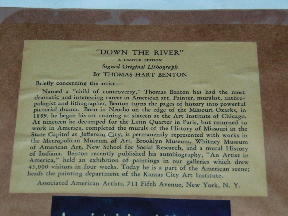 Thomas Hart Benton, Signed Lithograph - 4