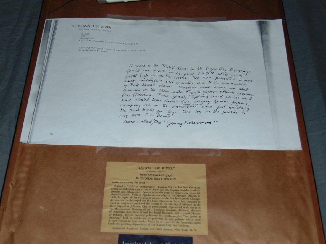 Thomas Hart Benton, Signed Lithograph - 5