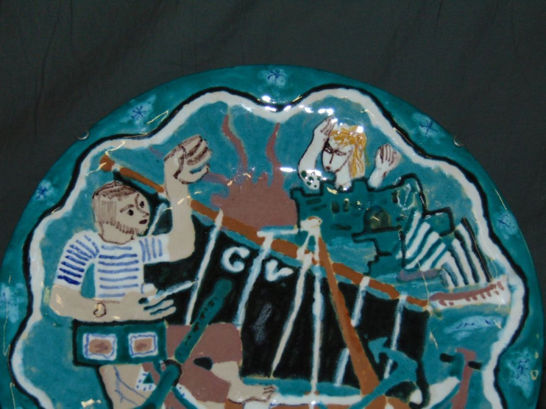 Keraluc Quimper Pottery Plate - 2