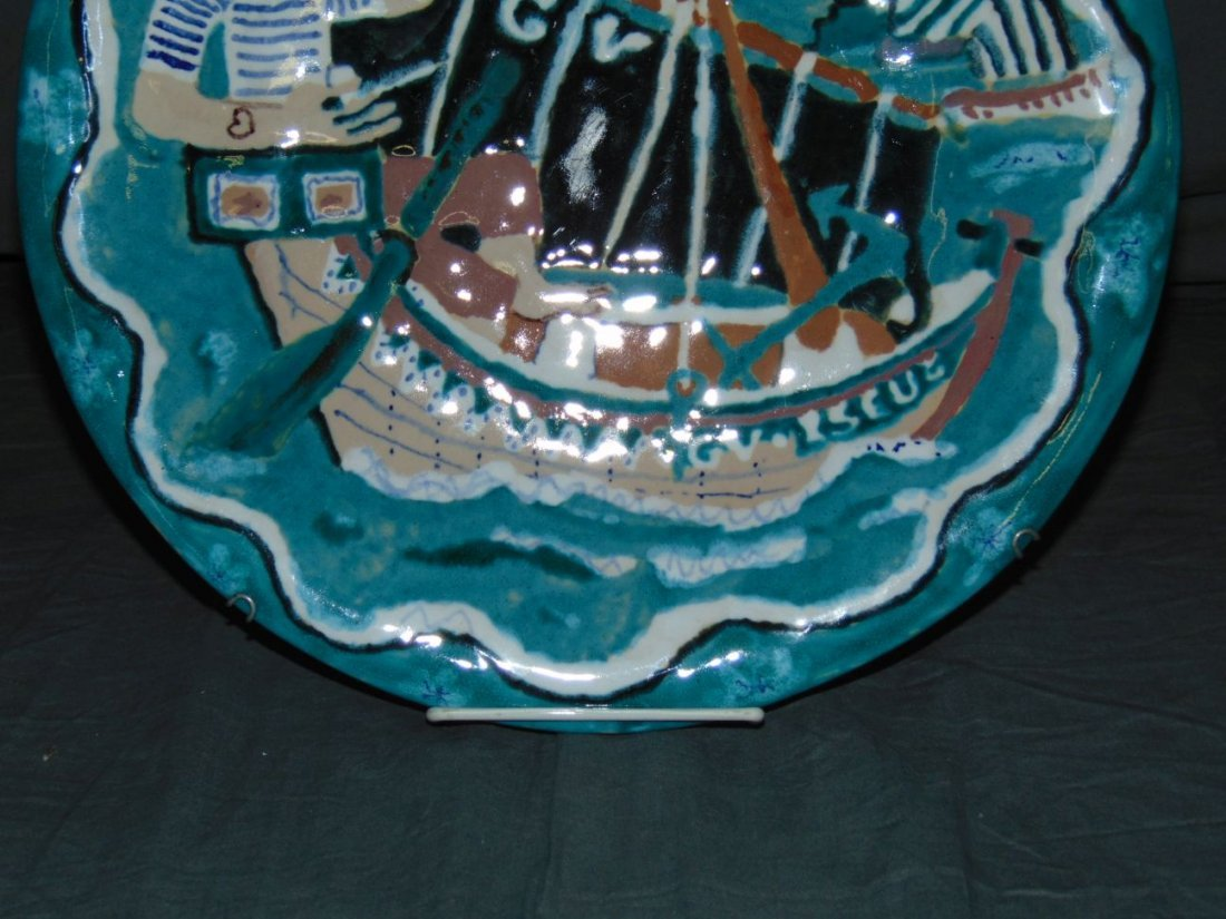 Keraluc Quimper Pottery Plate - 3