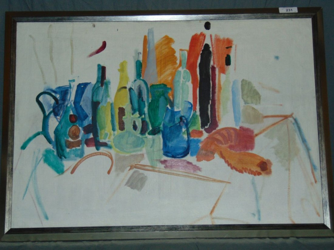 Jason Berger, Still Life Oil on Canvas