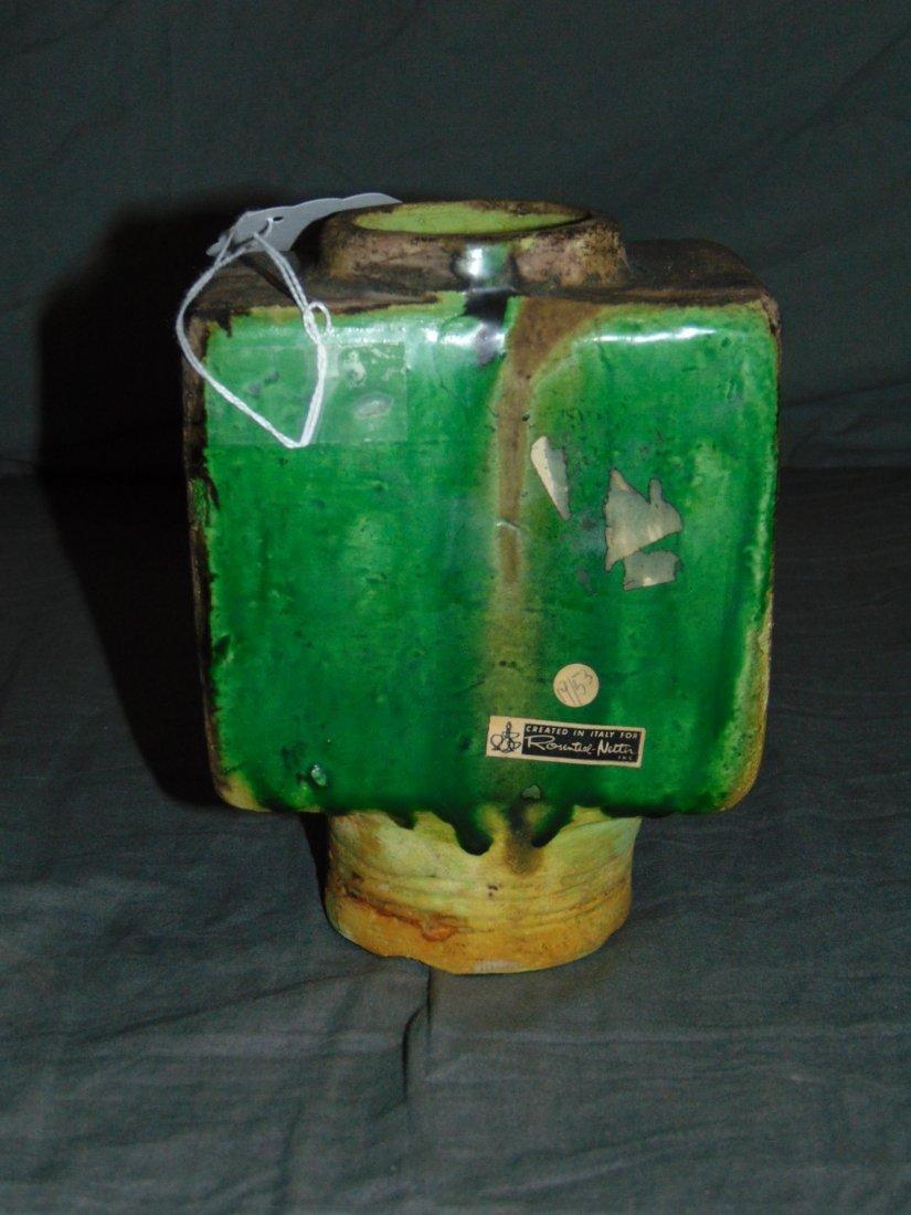 Rosenthal Netter Italian Pottery Vase - 4