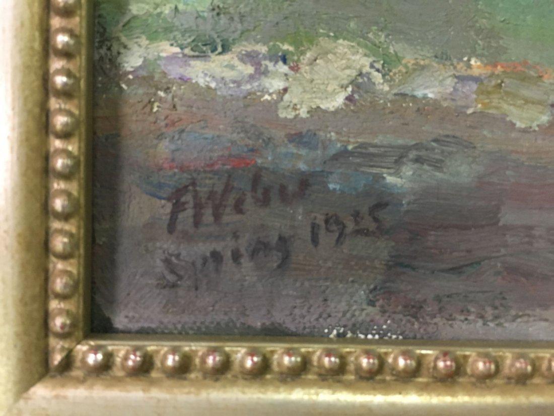 F William Weber  (19/20th century) Oil on Canvas. - 10