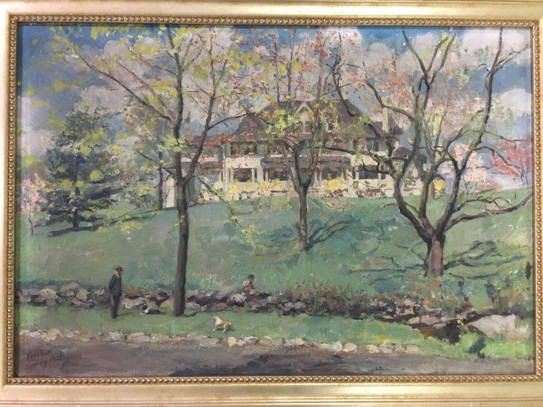 F William Weber  (19/20th century) Oil on Canvas. - 3