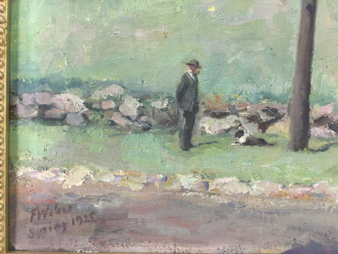 F William Weber  (19/20th century) Oil on Canvas. - 5