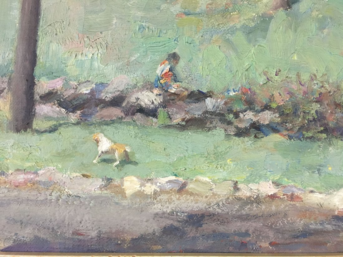 F William Weber  (19/20th century) Oil on Canvas. - 6