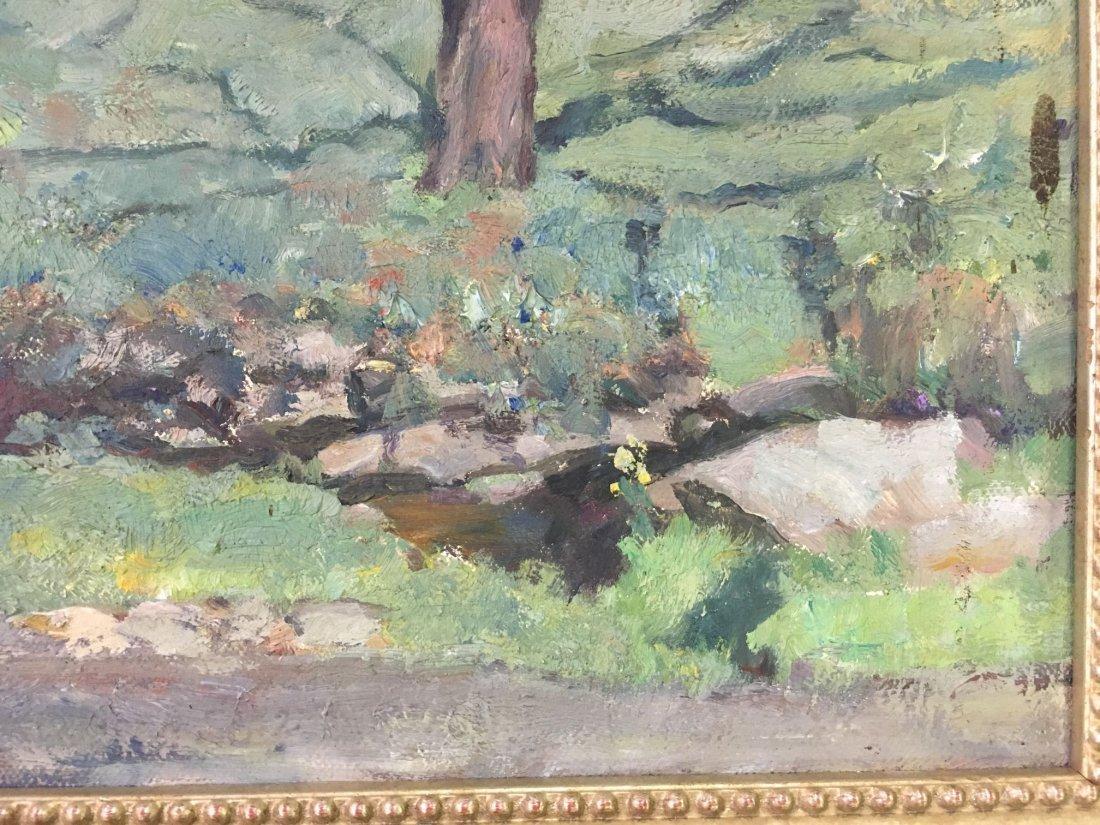F William Weber  (19/20th century) Oil on Canvas. - 7