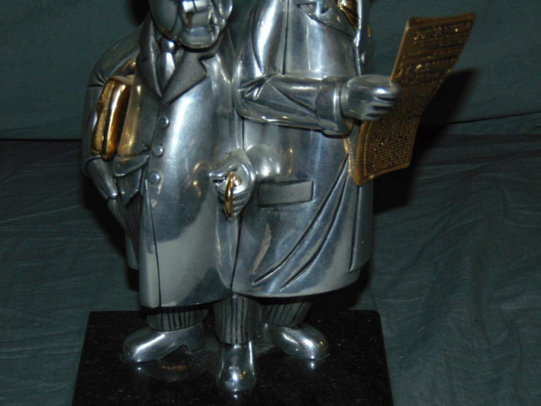Frank Meisler. Sculpture. - 3