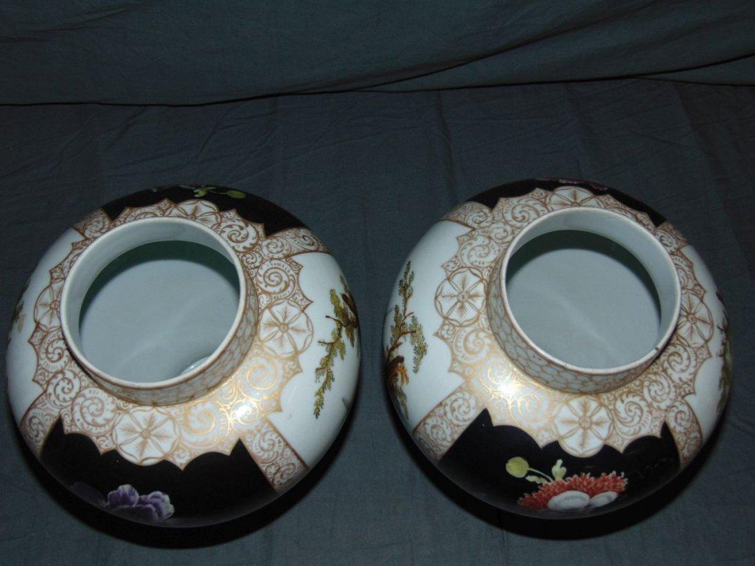 Pair of Decorative Porcelain Vases - 5