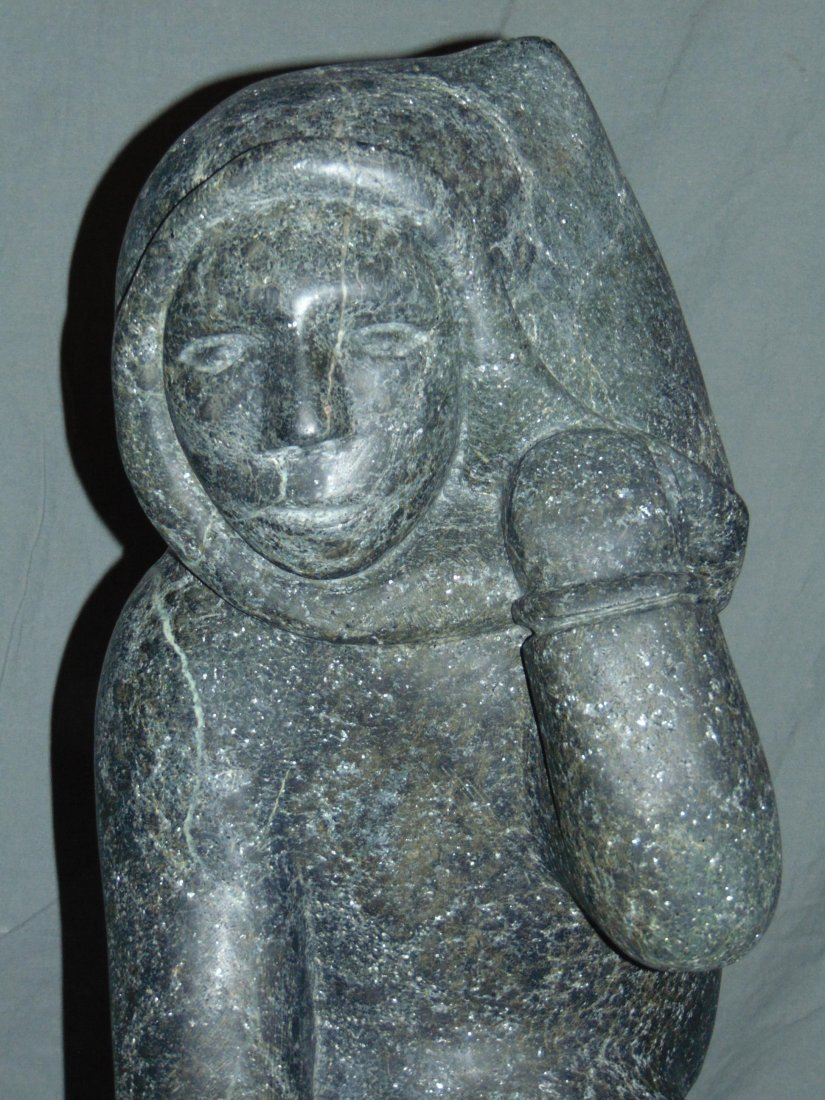 Large Inuit Sculpture. - 2