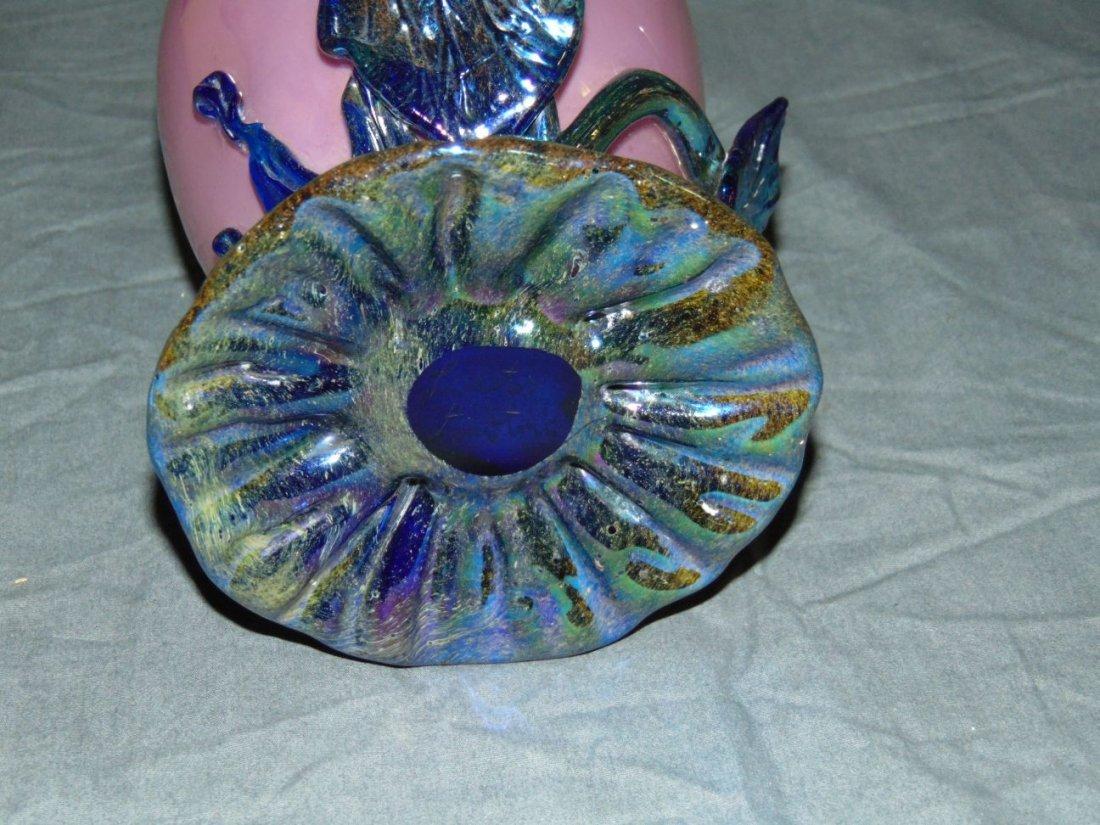 Loetz Signed Art Glass Vase. - 5