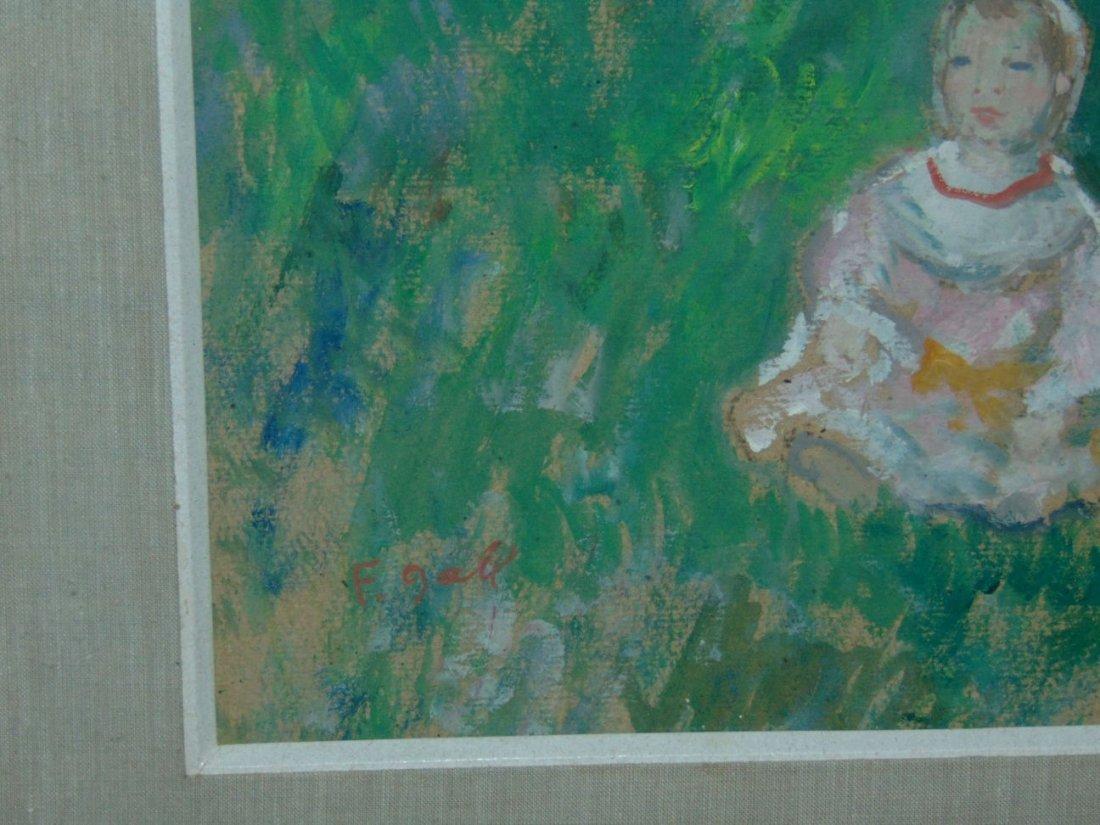 Francois Gall  (1912 - 1987) Oil. - 2