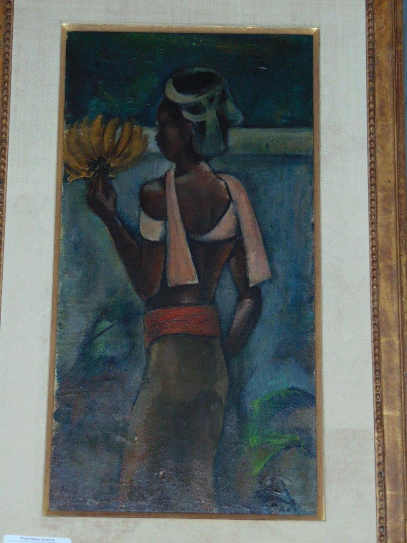 Maurice Sterne (1878 - 1957), Oil on Board