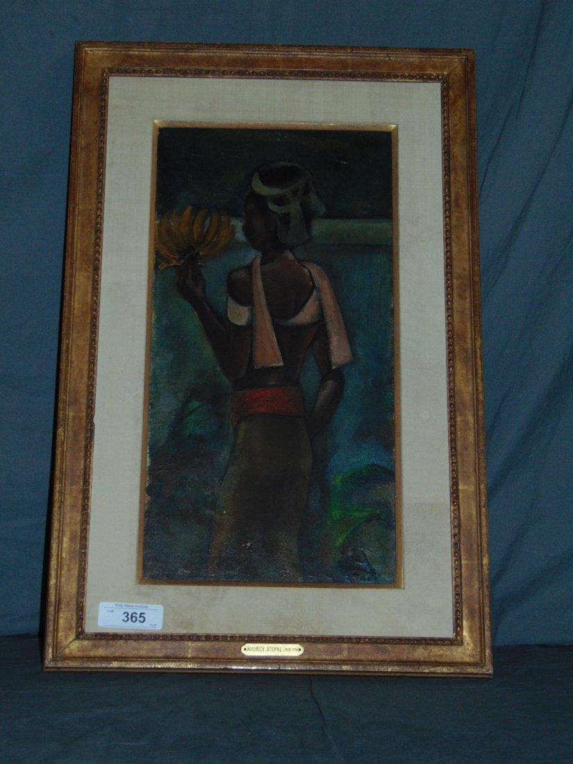 Maurice Sterne (1878 - 1957), Oil on Board - 3