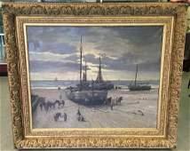 Jurrien Marinus Beek 1879  1965 Oil on Canvas