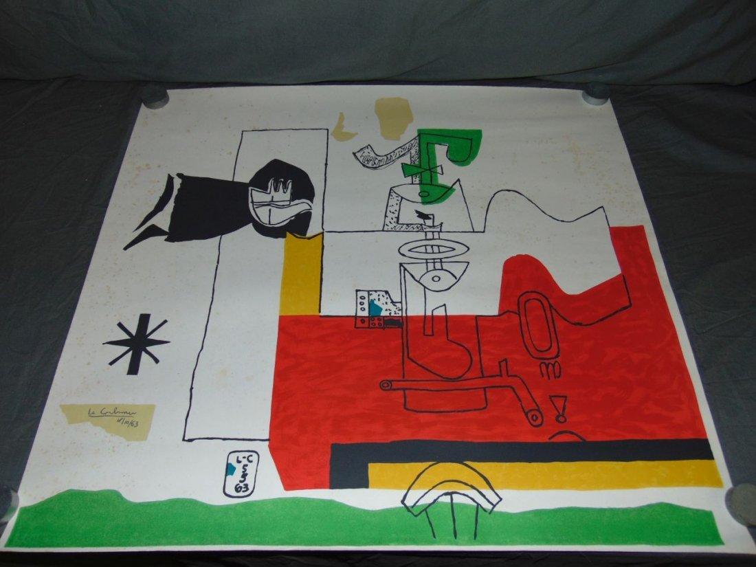 """Le Corbusier Litho, """"Totem"""""""