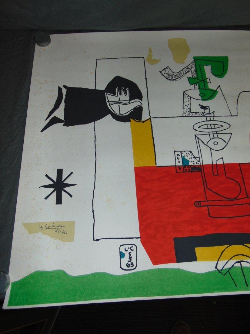 """Le Corbusier Litho, """"Totem"""" - 2"""
