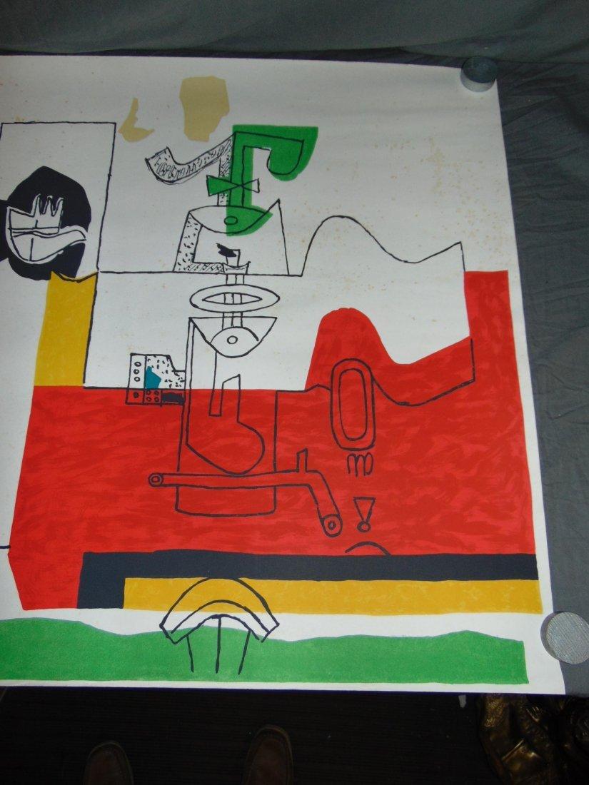 """Le Corbusier Litho, """"Totem"""" - 3"""