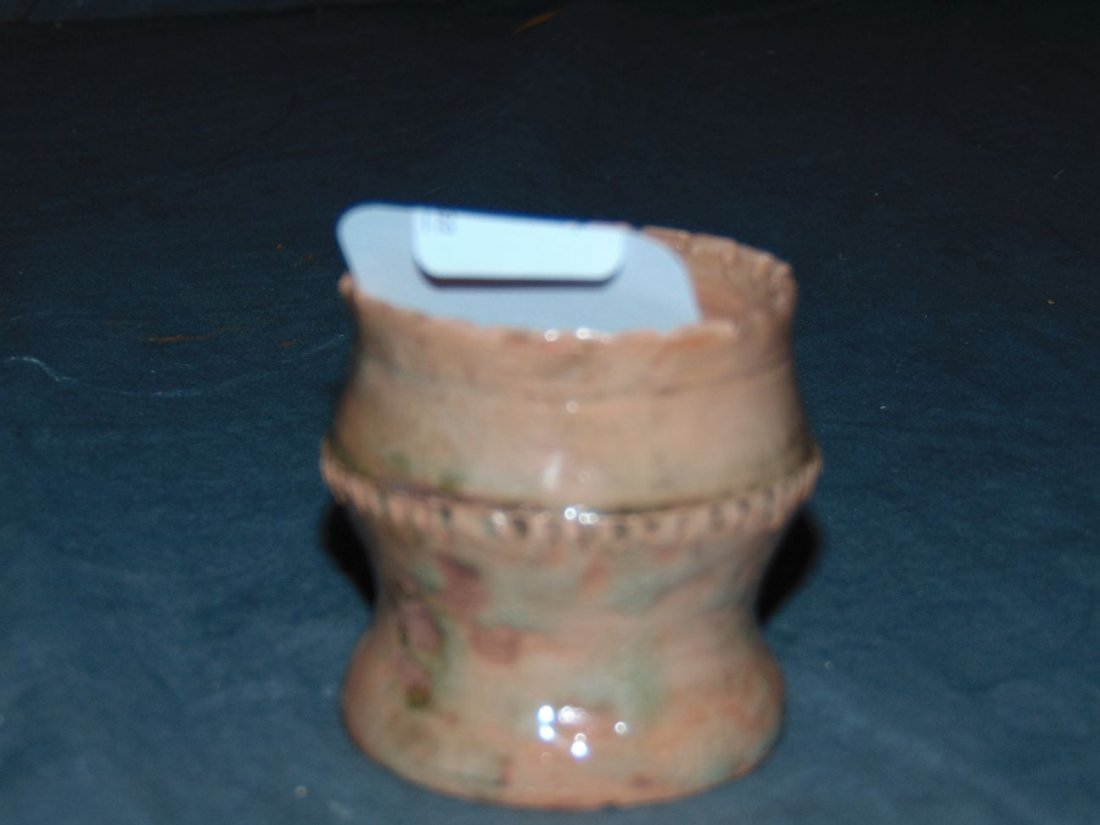 George Ohr Small Pottery Piece - 2