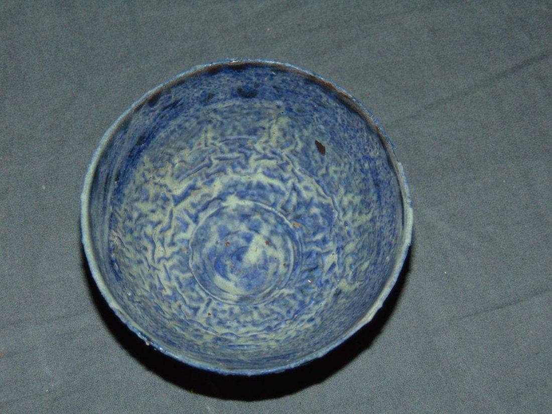Otto and Gertrude Natzler Crater Glaze Bowl - 3