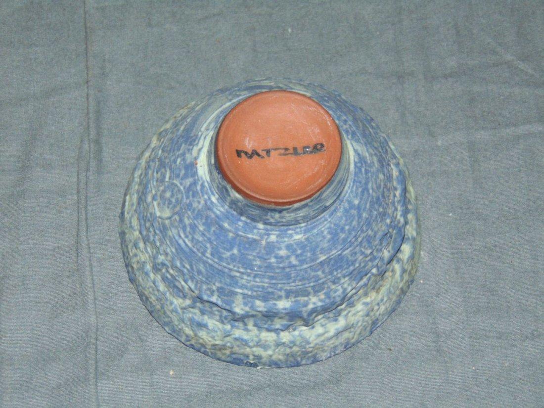 Otto and Gertrude Natzler Crater Glaze Bowl - 4