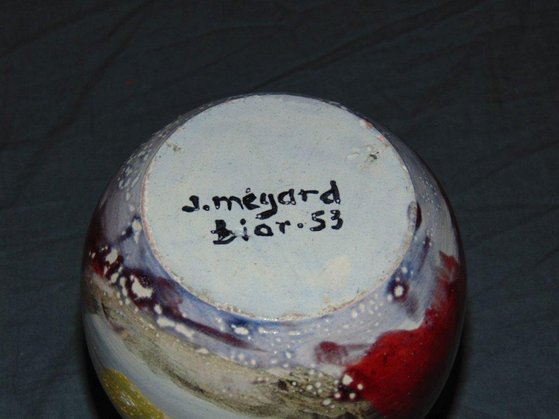 Jean Megard Biot, Pottery Vase - 3