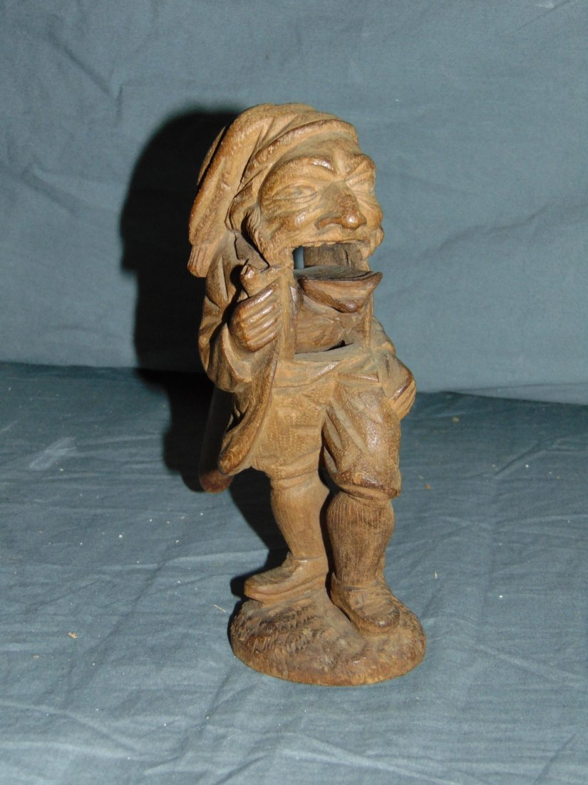 Wood Carved Nut Crackers. - 2