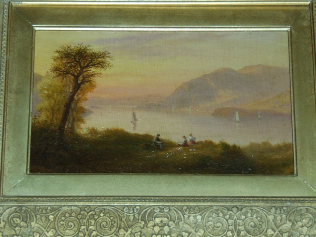 Oil on Board Attributed to Robert Weir.