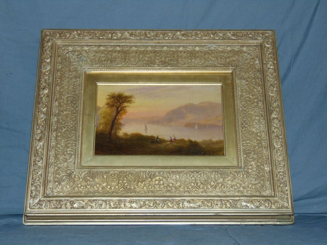 Oil on Board Attributed to Robert Weir. - 3