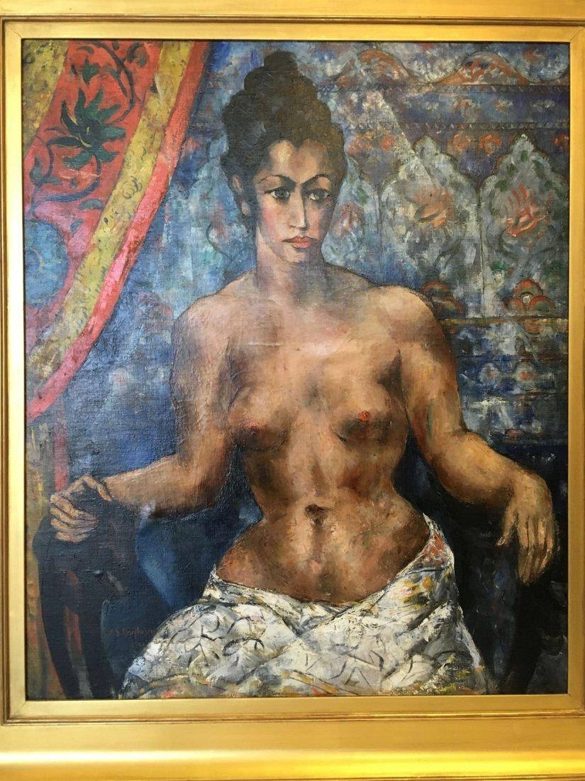 Abraham Baylinson  (1882 - 1950) Oil on Canvas. - 2