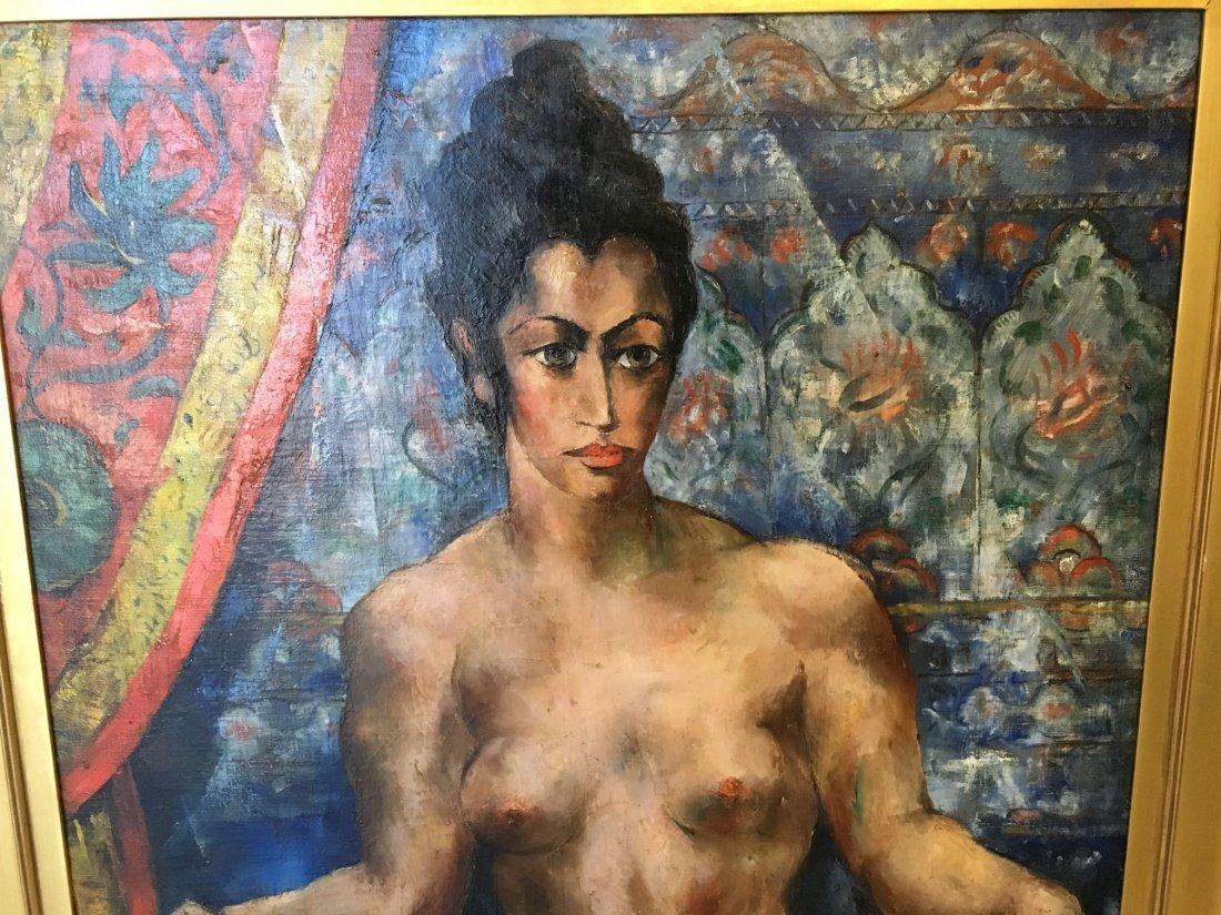 Abraham Baylinson  (1882 - 1950) Oil on Canvas. - 3