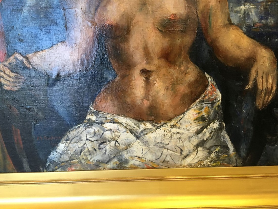 Abraham Baylinson  (1882 - 1950) Oil on Canvas. - 5