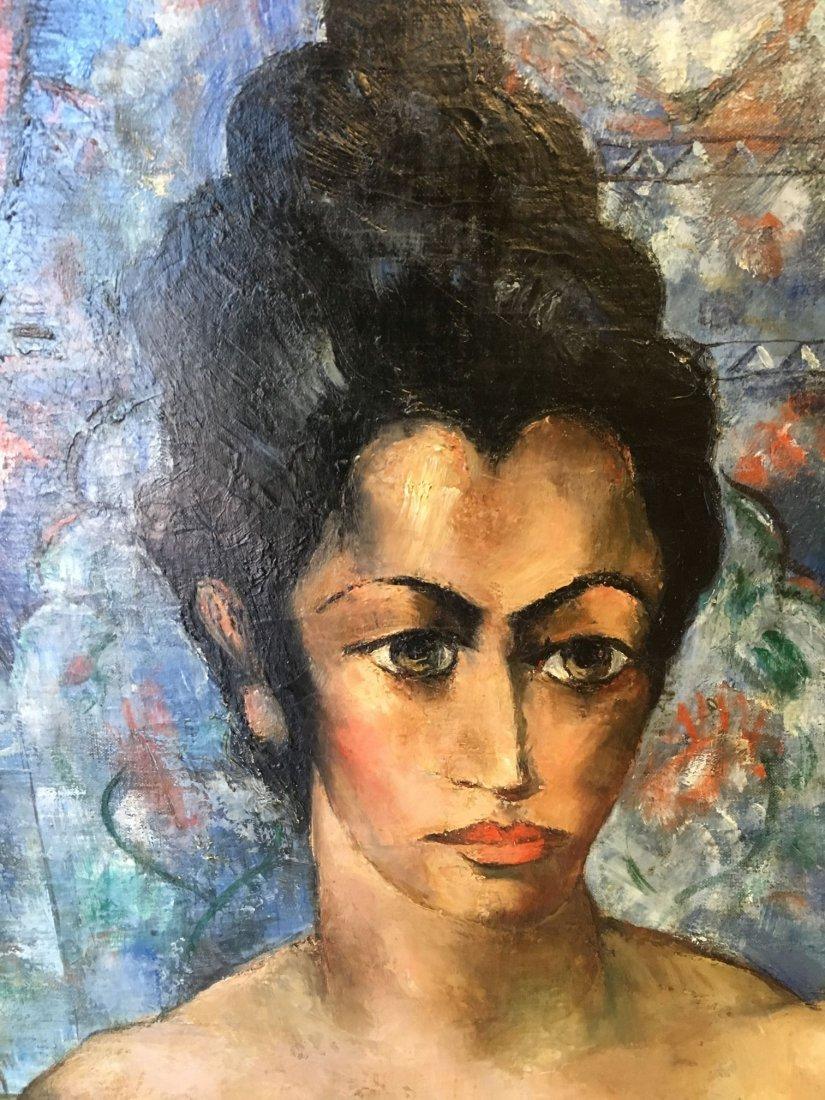 Abraham Baylinson  (1882 - 1950) Oil on Canvas. - 7