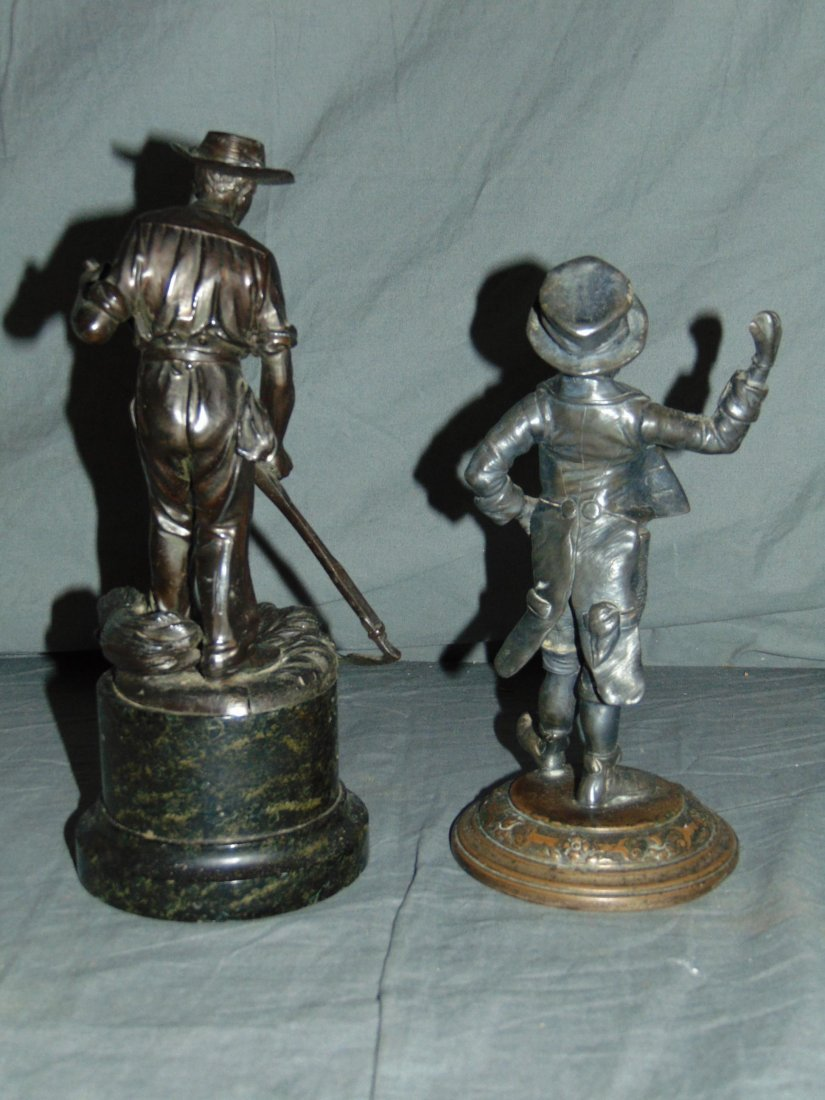 Four Piece Bronze and Metal Lot. - 3