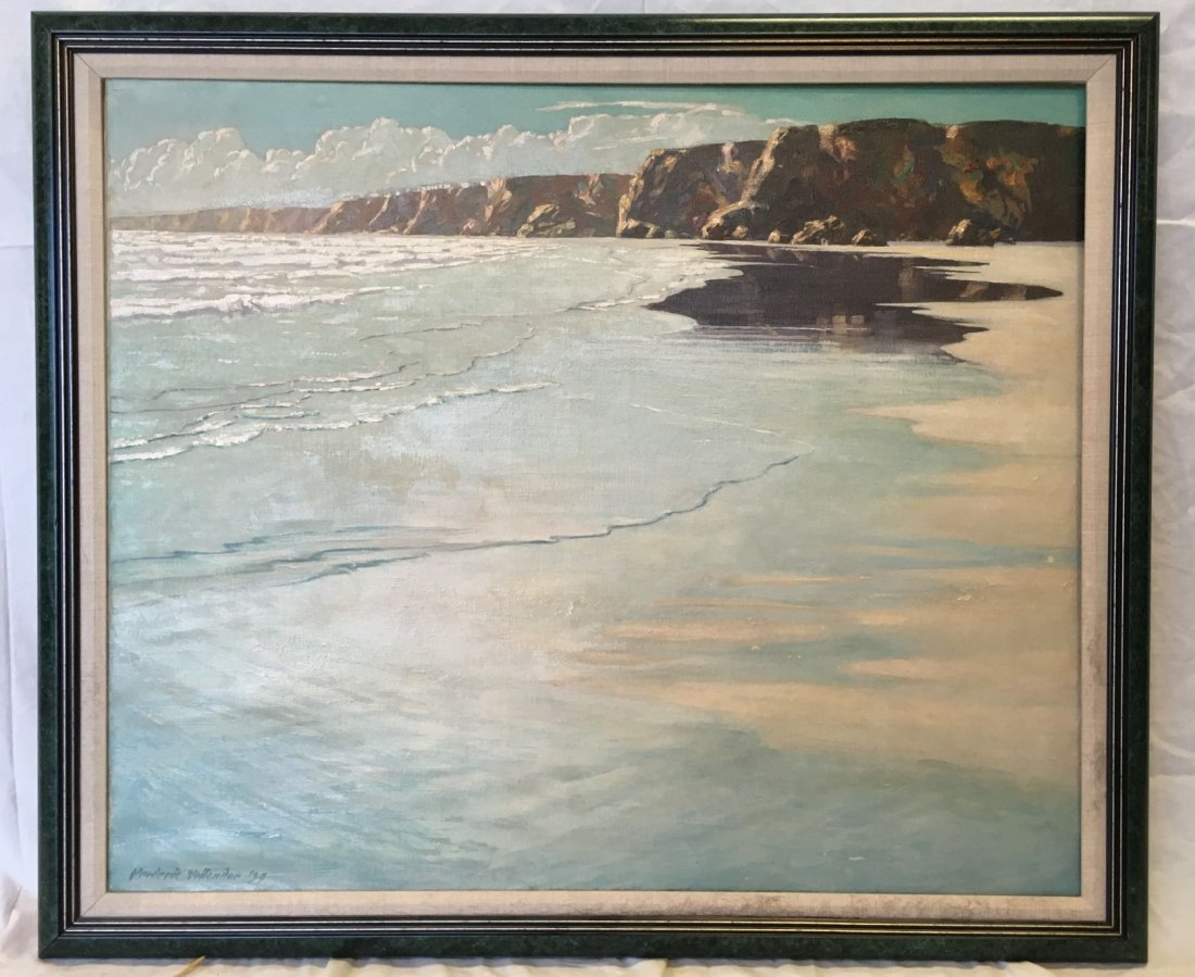 Frederic Tellander  (1878 - 1968), Oil on Canvas