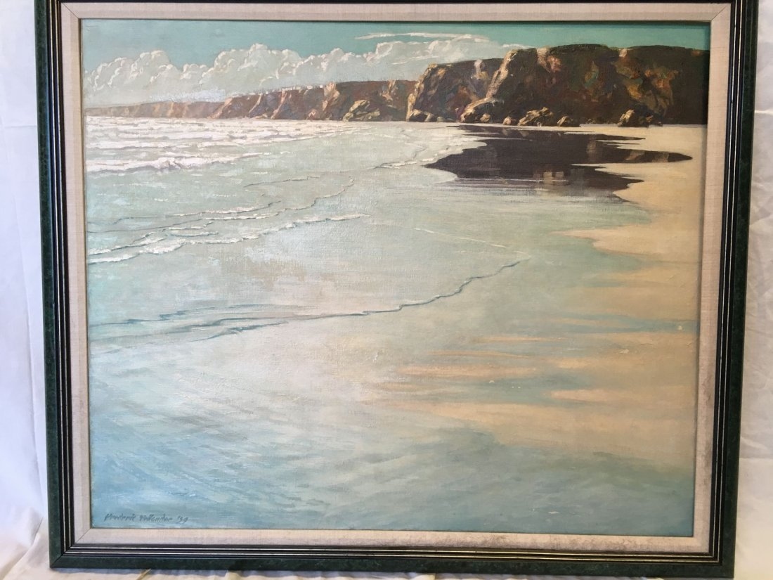 Frederic Tellander  (1878 - 1968), Oil on Canvas - 2