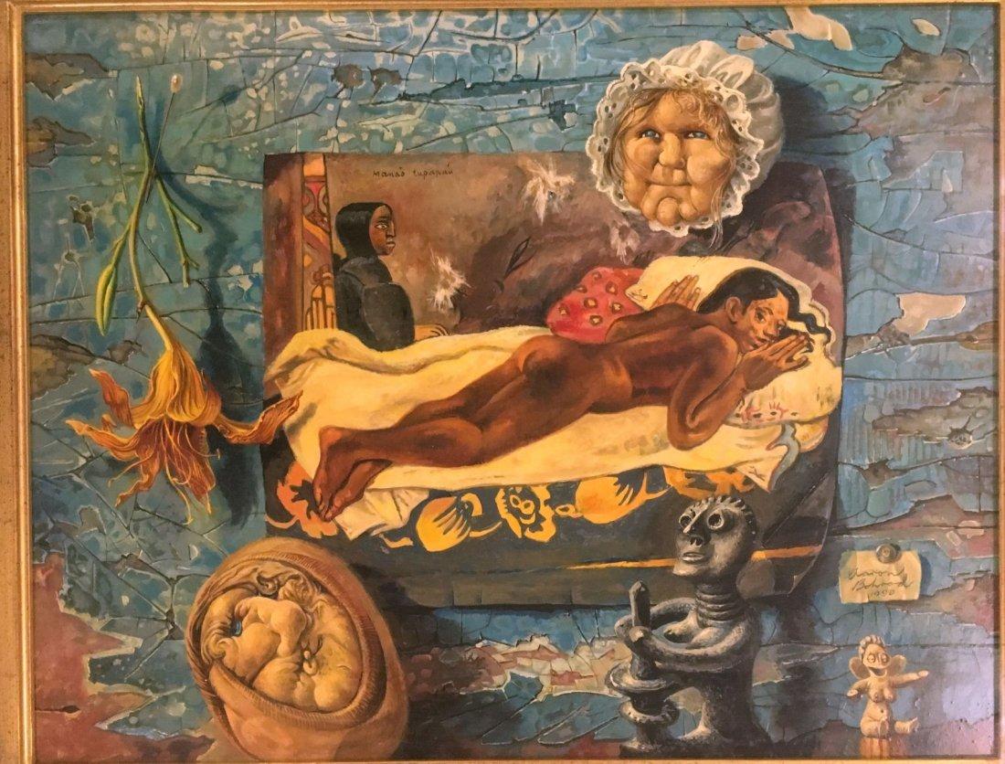 Aaron Bohrod  (1907 - 1992), Oil on Gesso Panel - 2