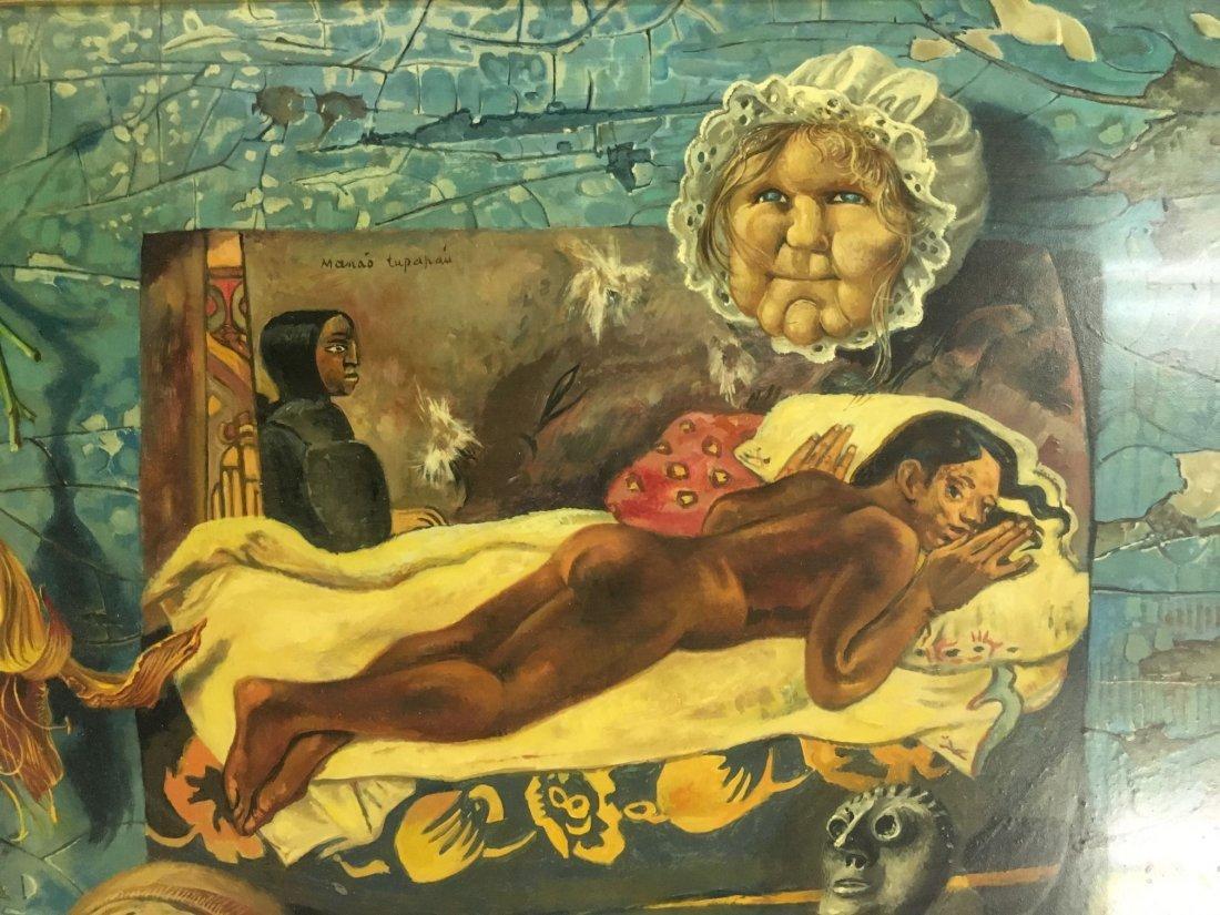 Aaron Bohrod  (1907 - 1992), Oil on Gesso Panel - 3