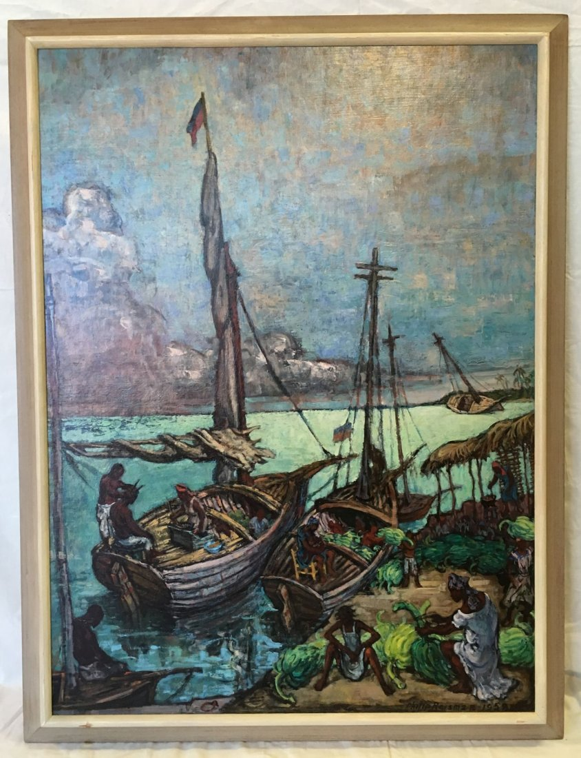 Philip Reisman  (1904 - 1992), Oil on Board