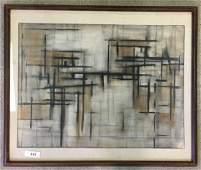 Michael Loew (1907 - 1985), Watercolor on Board