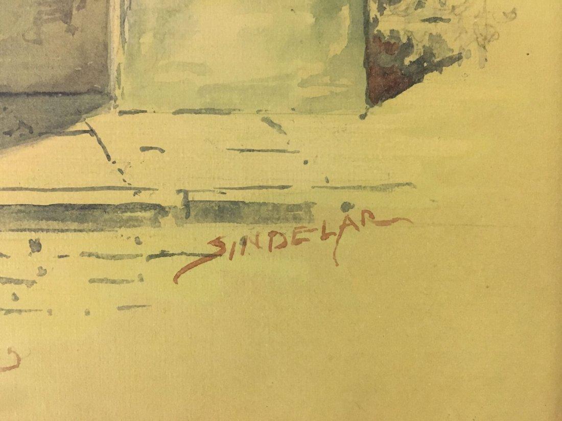 Thomas Sindelar, Orig Salmagundi Club Menu Artwork - 5