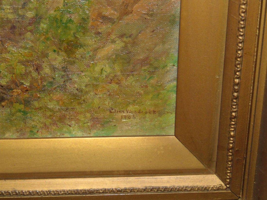 Lilian Woodcock, Oil on Board Painting - 2