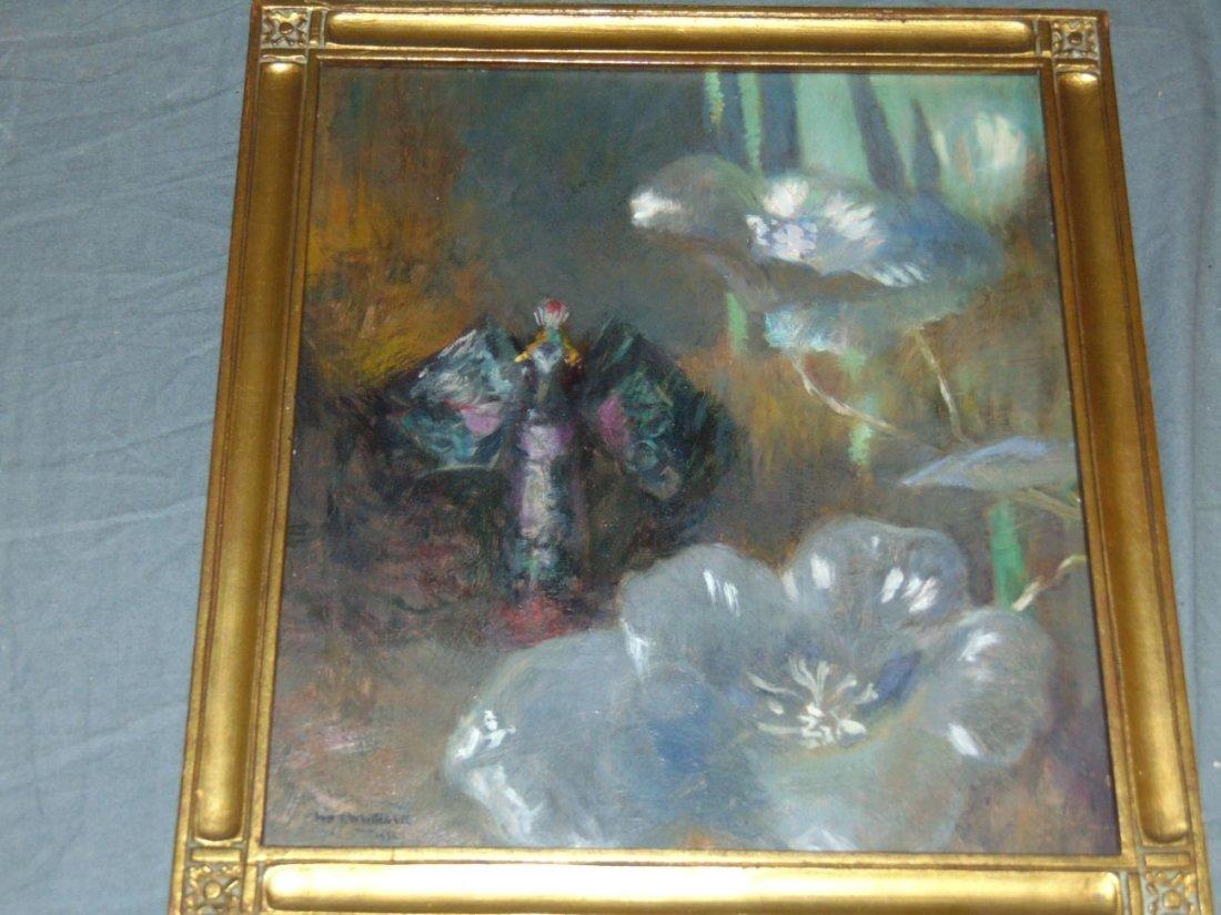William John Whittemore (1860 - 1955), Oil on Wood