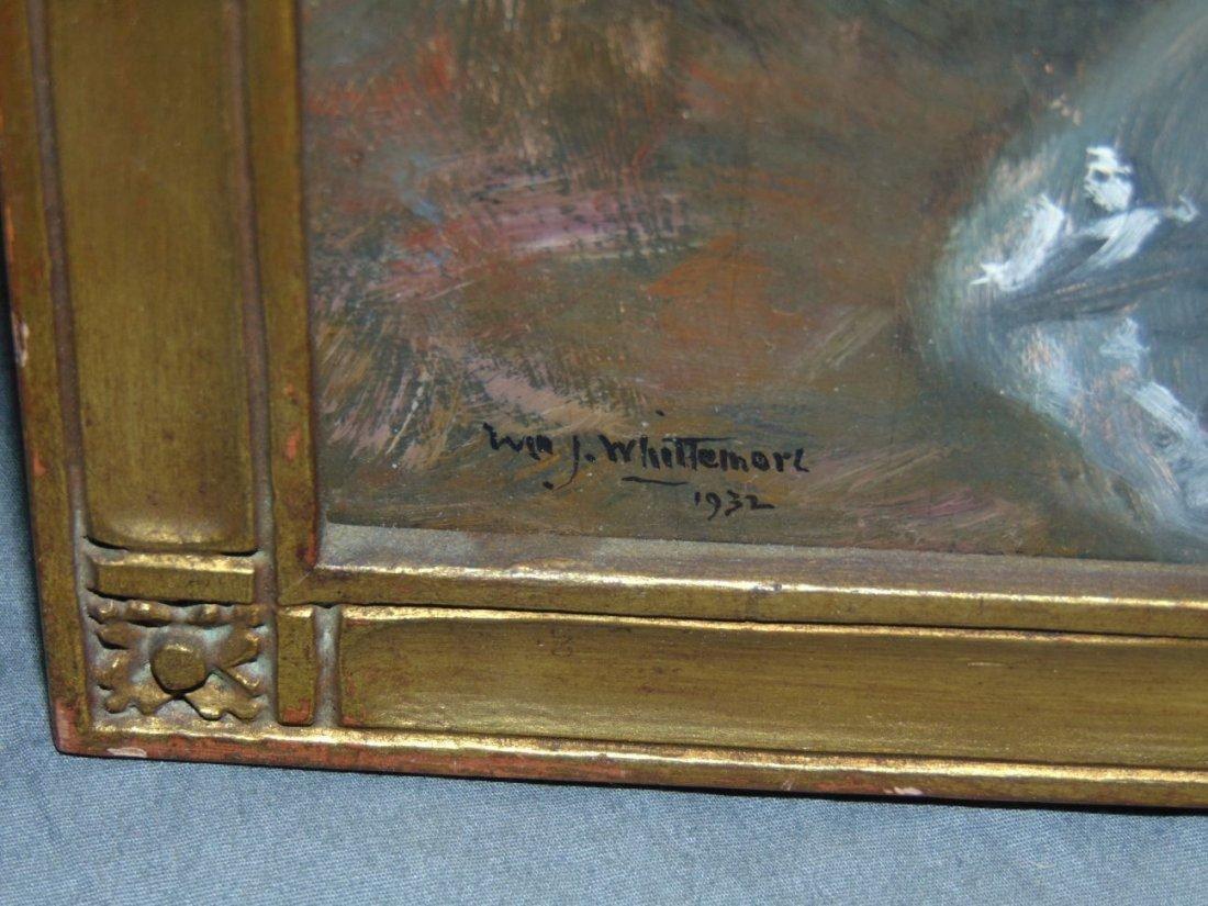 William John Whittemore (1860 - 1955), Oil on Wood - 2